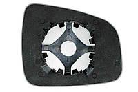 Элемент зеркала RENAULT Duster (10- ) левый асферический
