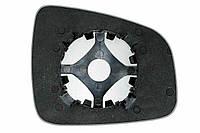 Элемент зеркала RENAULT Duster (10- ) левый сферический