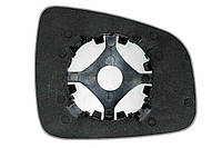 Элемент зеркала RENAULT Sandero (08- ) левый асферический