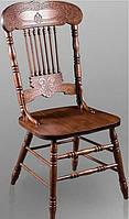 Деревянный стул CCKD-838-S темный орех Малайзия
