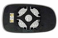 Элемент зеркала SAAB Sport Sedan (03-10) левый асферический с обогревом