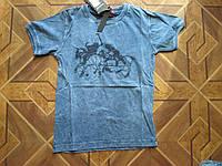 Детские футболки летние для мальчиков 5-8 лет Турция  хлопок