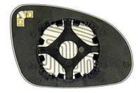 Элемент зеркала VOLKSWAGEN Sharan (04-09) левый сферический с обогревом