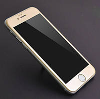 3D Full Cover защитное стекло для iPhone 6/6S золотистый