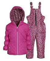 Демисезонный раздельный комбинезон Pink Platinum(США) для девочки 3-6лет, фото 1