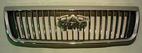 Решетка радиатора хром с 2011г для Chery Amulet (A15) - Чери Амулет - A15-8401501BC, код запчасти A15-8401501BC
