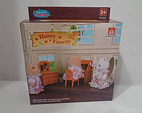 Игровой набор мебели для спальни | «Happy Family»
