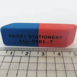 Ластик Офис L0051 красно-синий 5см