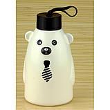Термобутылка керамическая медвежонок 550 мл (4 вида), фото 3