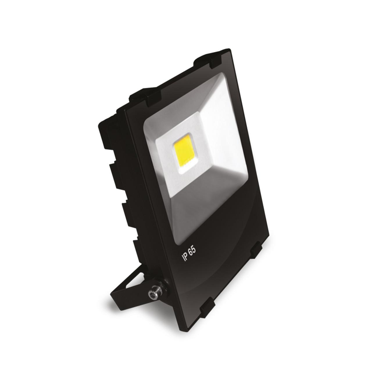 Led-прожектор Euroelectric LED COB 50W 6500K modern