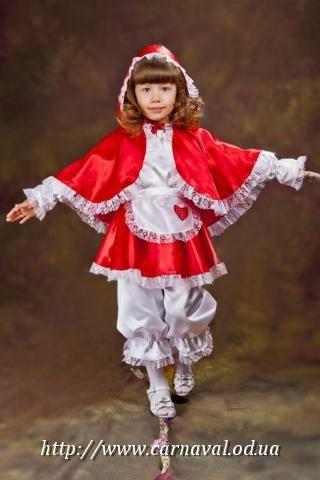 Карнавальный костюм Красной Шапочки, фото 1
