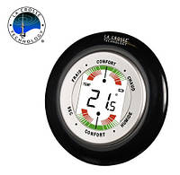 Современный цифровой термометр-гигрометр WT138-B-BLI черный La Crosse 914406.