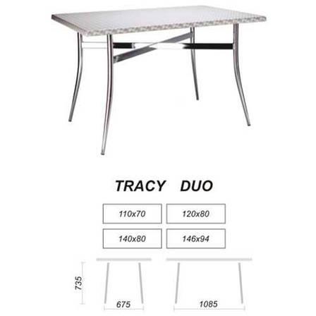 Опора столешницы  Tracy duo chrome, фото 2