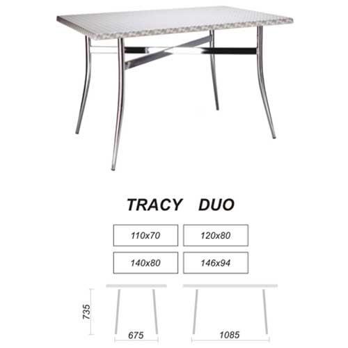 Опора столешницы  Tracy duo chrome