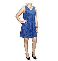 Платье коттон+полиэстер для женщин р. 48   арт. M 906
