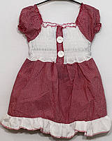 Платье х/б для девочки р. 104   арт. 147 Турция