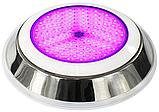 Прожектор светодиодный Aquaviva LED002–252LED (18 Вт) RGB (нержавеющая сталь) под бетон / лайнер , фото 4