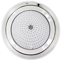 Прожектор светодиодный Aquaviva LED002–252LED (14 Вт) RGB (нержавеющая сталь) под бетон / лайнер