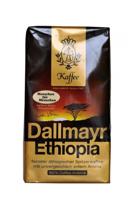 Кофе в зернах Dallmayr Ethiopia моносорт, 500 г