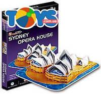 Трехмерная головоломка «Сиднейский Оперный Театр» серия мини, S3001h