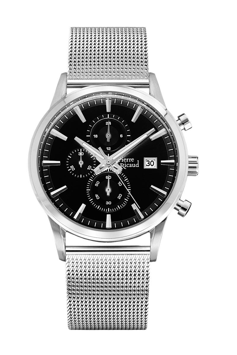 Часы Pierre Ricaud PR 97201.5116CH кварц. браслет Chronograph