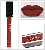 """Aden помада жидкая Суперстойкая  Liquid Lipstick """"Brick"""" """"Кирпичный"""" № 28, фото 1"""
