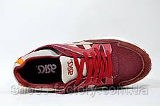 Кроссовки женские в стиле Asics Gel Lyte V, Бордо, фото 2