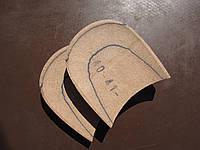 Каблук деревянный( мазанит) без набойки,(высота -18мм.)р.40-41