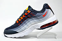 Кроссовки унисекс Nike Air Max 95 Ultra, Gray\White\Orange