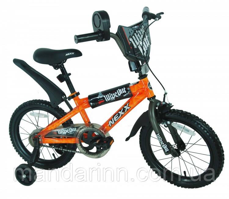 """Велосипед дитячий """"NEXX BOY-16"""" 16 дюймів. Оранж."""