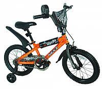 """Велосипед дитячий """"NEXX BOY-16"""" 16 дюймів. Оранж., фото 1"""