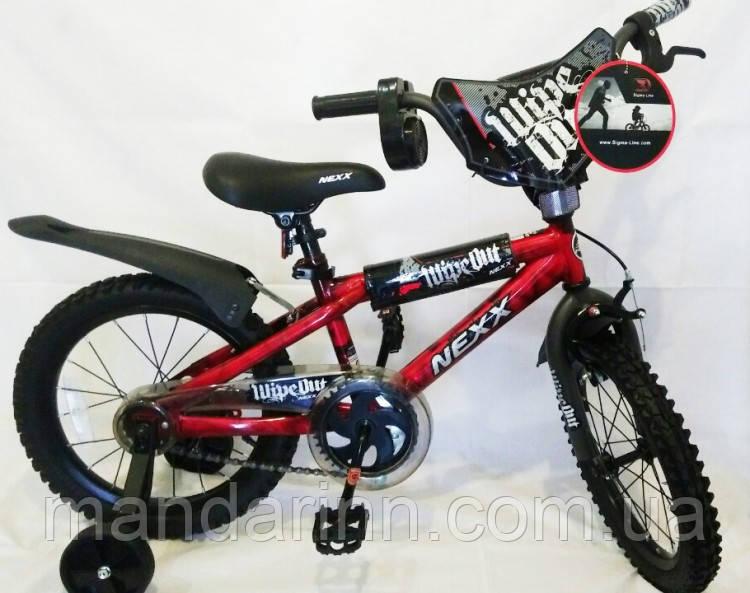 """Велосипед детский """"NEXX BOY-16"""" 16 дюймов. Красный."""