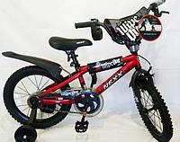 """Велосипед детский """"NEXX BOY-16"""" 16 дюймов. Красный., фото 1"""