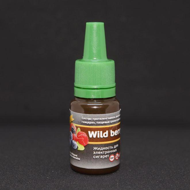 """Жидкость для электронной сигареты """"Лесные ягоды"""" 0мг/мл"""