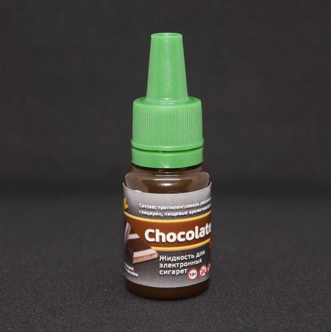 """Жидкость для электронной сигареты """"Черный шоколад"""" 0мг/мл"""