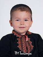 Вишиванка для хлопчика лен, этно