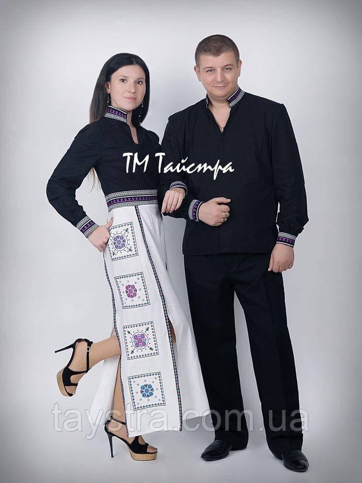 "Вышиванка пара в бохо стиле ""Антик"""