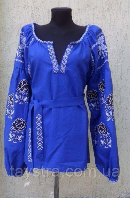 Вышитая блузка бохо, вышиванка, этно
