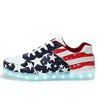 Светящиеся LED кроссовки LEDKED USA Original
