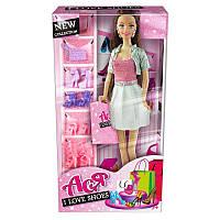 """Кукла Ася шарнирная """"Я люблю обувь""""; 28 см; брюнетка; вариант 2, в кор. 33*17*7см(35083)"""
