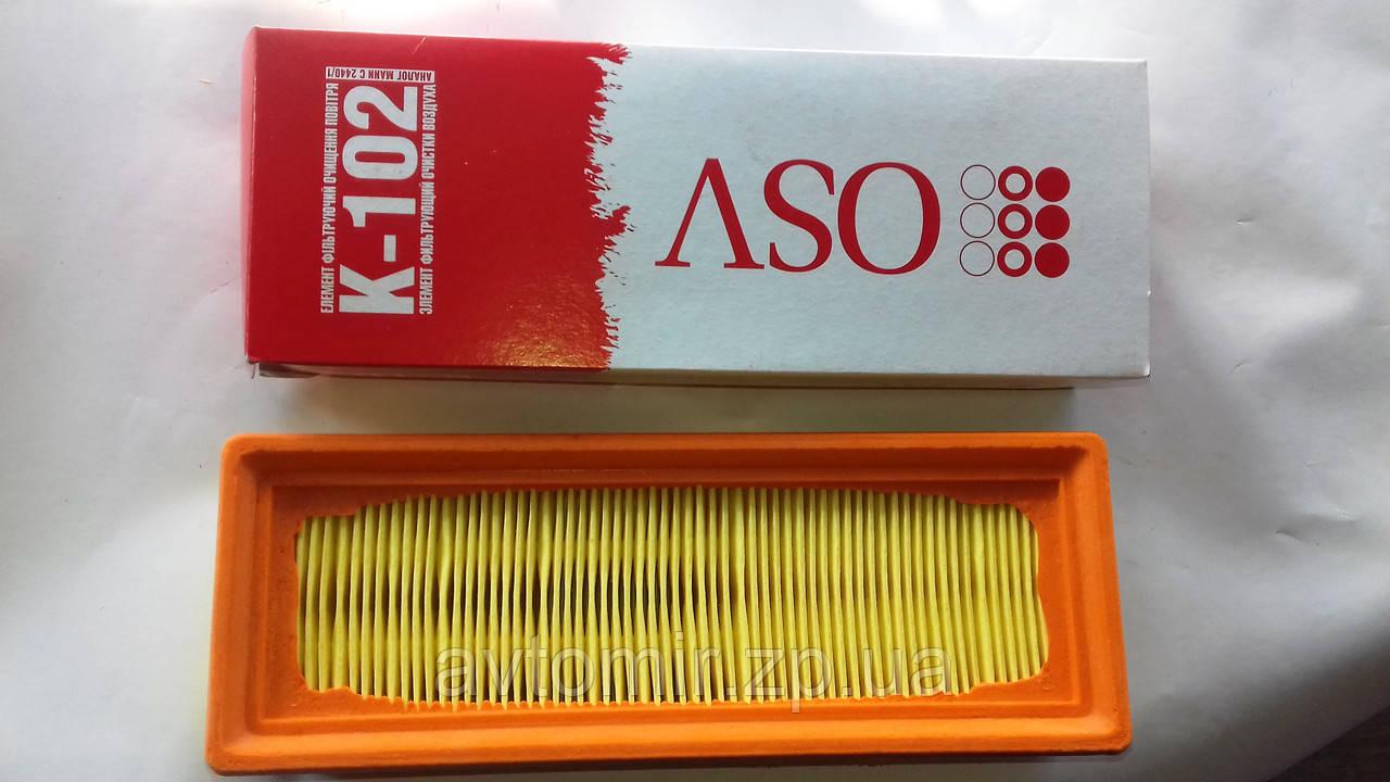 Фільтр повітряний заз 1102-1105,Таврія,Славута інжектор Промбизнес OSV