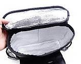 Автомобильный органайзер термосумка, органайзер на спинку сидения, фото 5