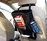 Автомобильный органайзер термосумка, органайзер на спинку сидения, фото 4