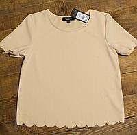 Детская подростковая блуза New Look  для девочки кремовая р.164/170