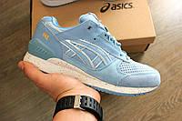 Женские кроссовки Asics Gel Lyte III Respector Blue. Живое фото! Топ качество (асикс сакура)