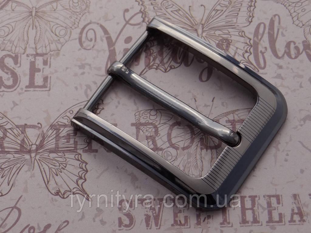 Пряжка ременная 40мм G, 3009, т.никель
