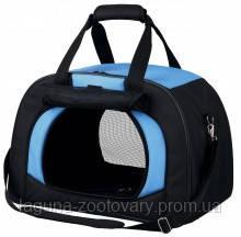 """Сумка - переноска """"Килиан"""" для собак и кошек до 6кг, 31х32х48см, черный/синий"""