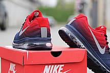 Мужские кроссовки NIKE AIR MAX 2017 синие с красным, фото 3