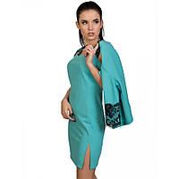 Стильное платье с пиджаком (двойка) 5 цветов