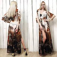 Туника женская ,длинная,материал Шифон, очень много расцветок,фото реал вмаг №80455